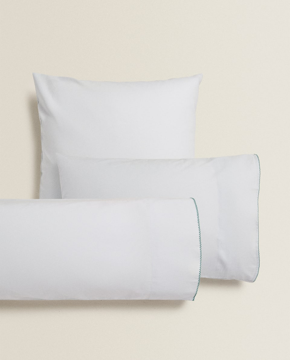 PILLOWCASE WITH TRIM