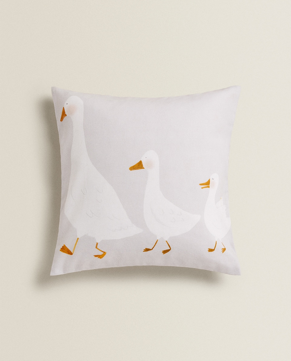 DUCK FAMILY CUSHION COVER