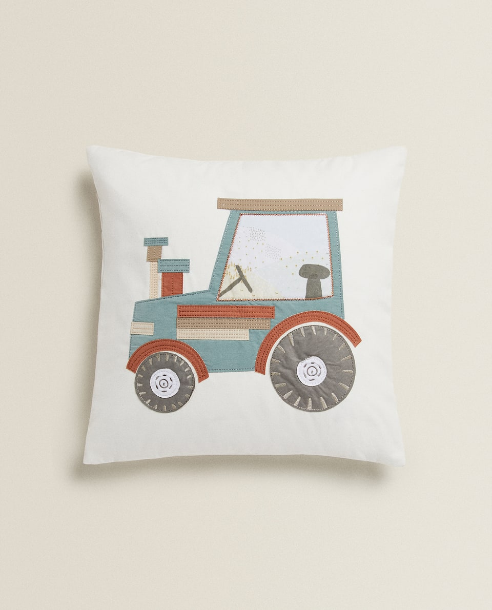 TRACTOR CUSHION COVER