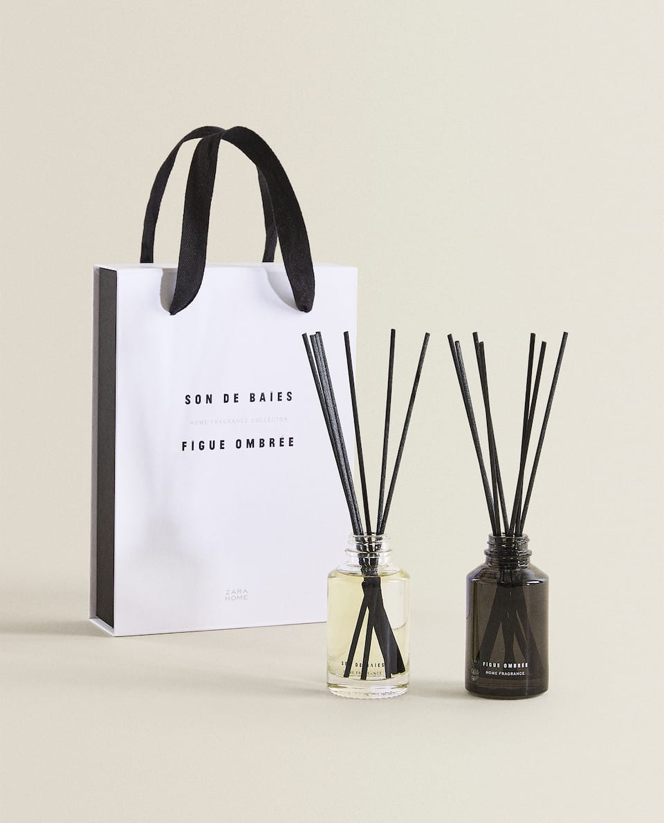 FIGUE OMBRÉE & SON DE BAIES REED DIFFUSER BOX