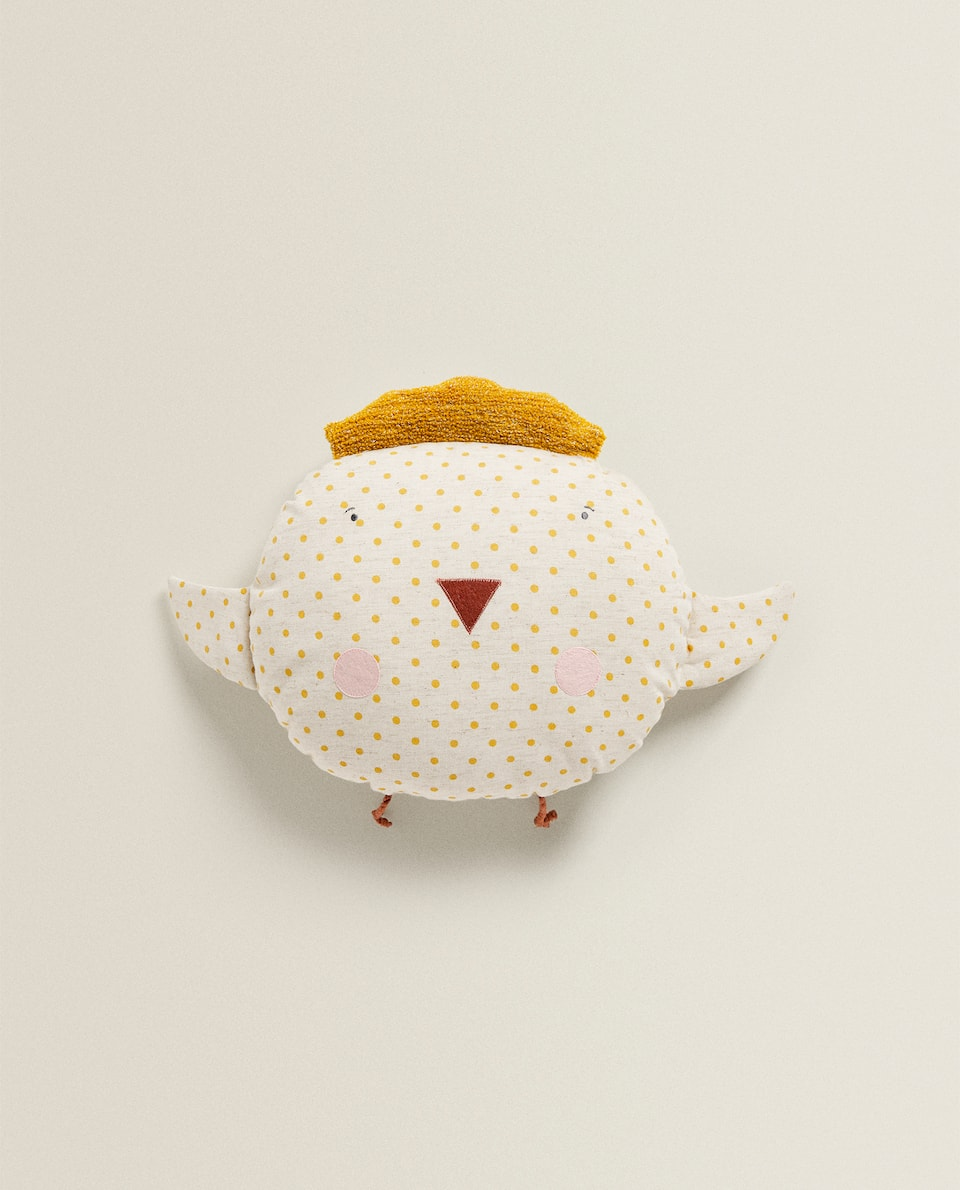 CHICK-SHAPED CUSHION