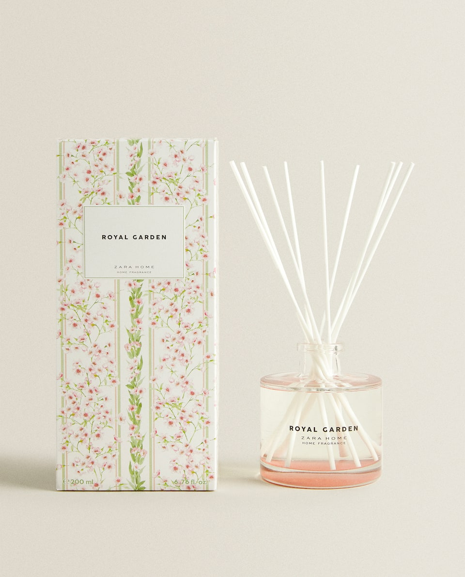 DIFFUSEUR D'AMBIANCE EN STICKS ROYAL GARDEN (200 ML)