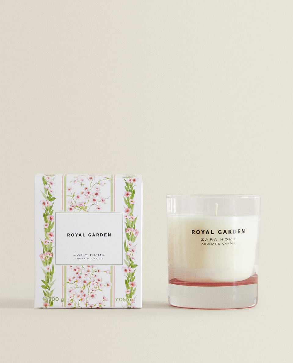 ROYAL GARDEN SCENTED CANDLE