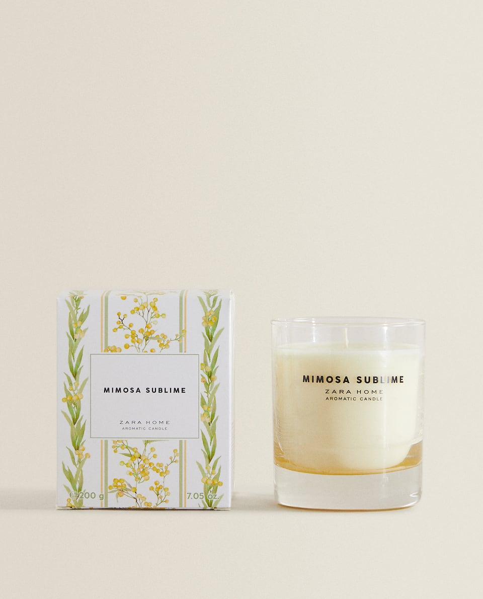 MIMOSA SUBLIME SCENTED CANDLE (200 G)