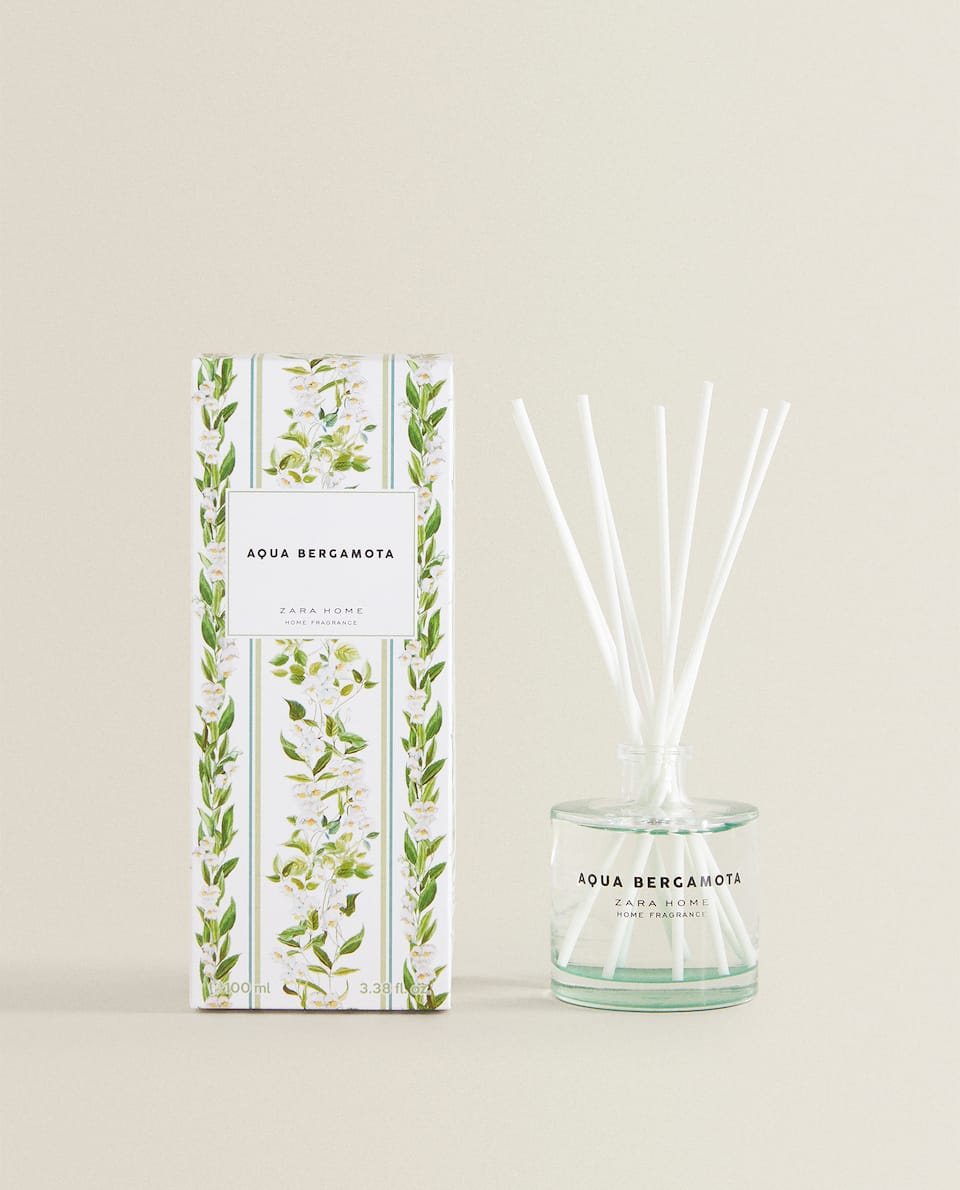 (100 ML) AMBIENTADOR EN STICKS AQUA BERGAMOTA