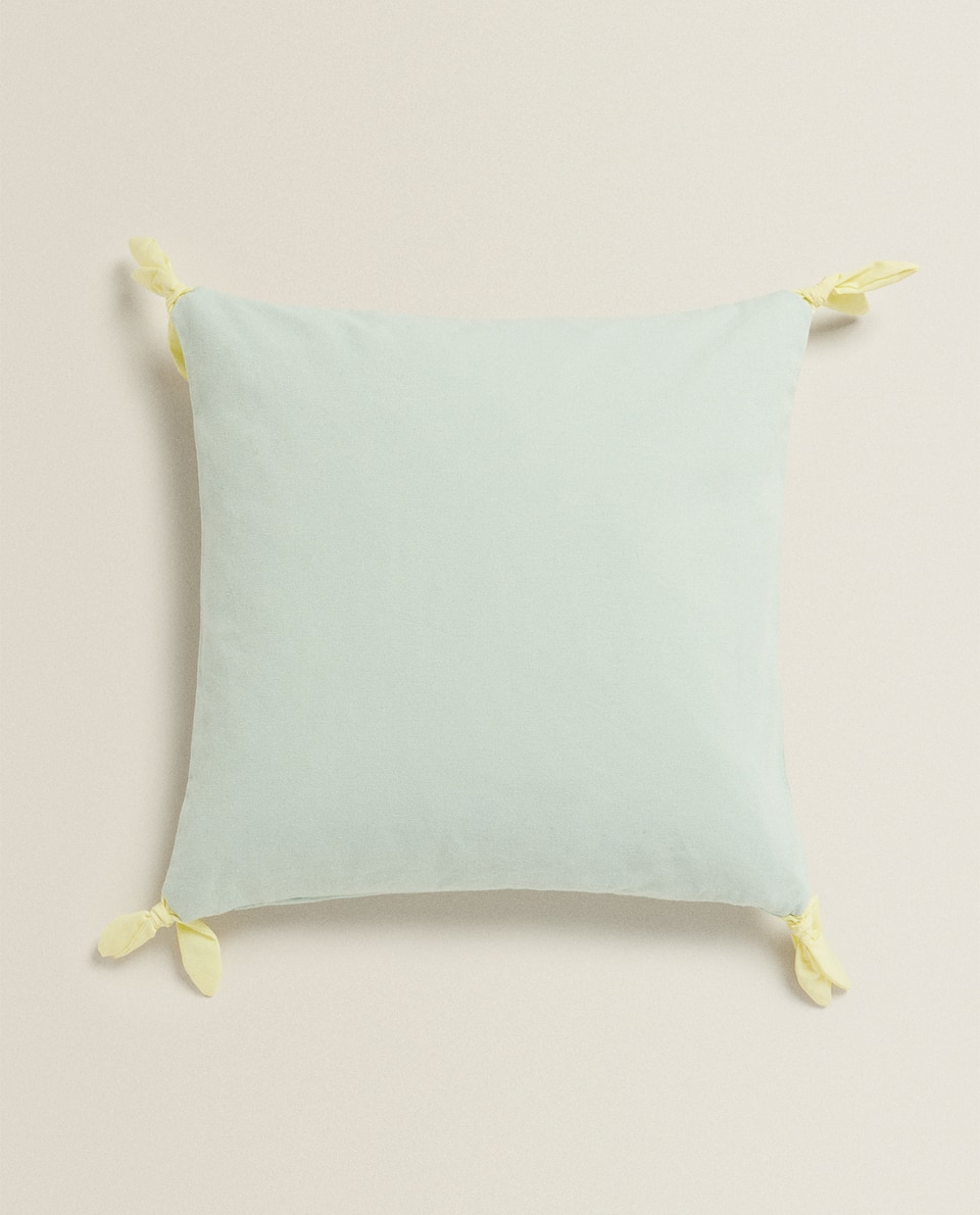 KNOTTED CUSHION COVER