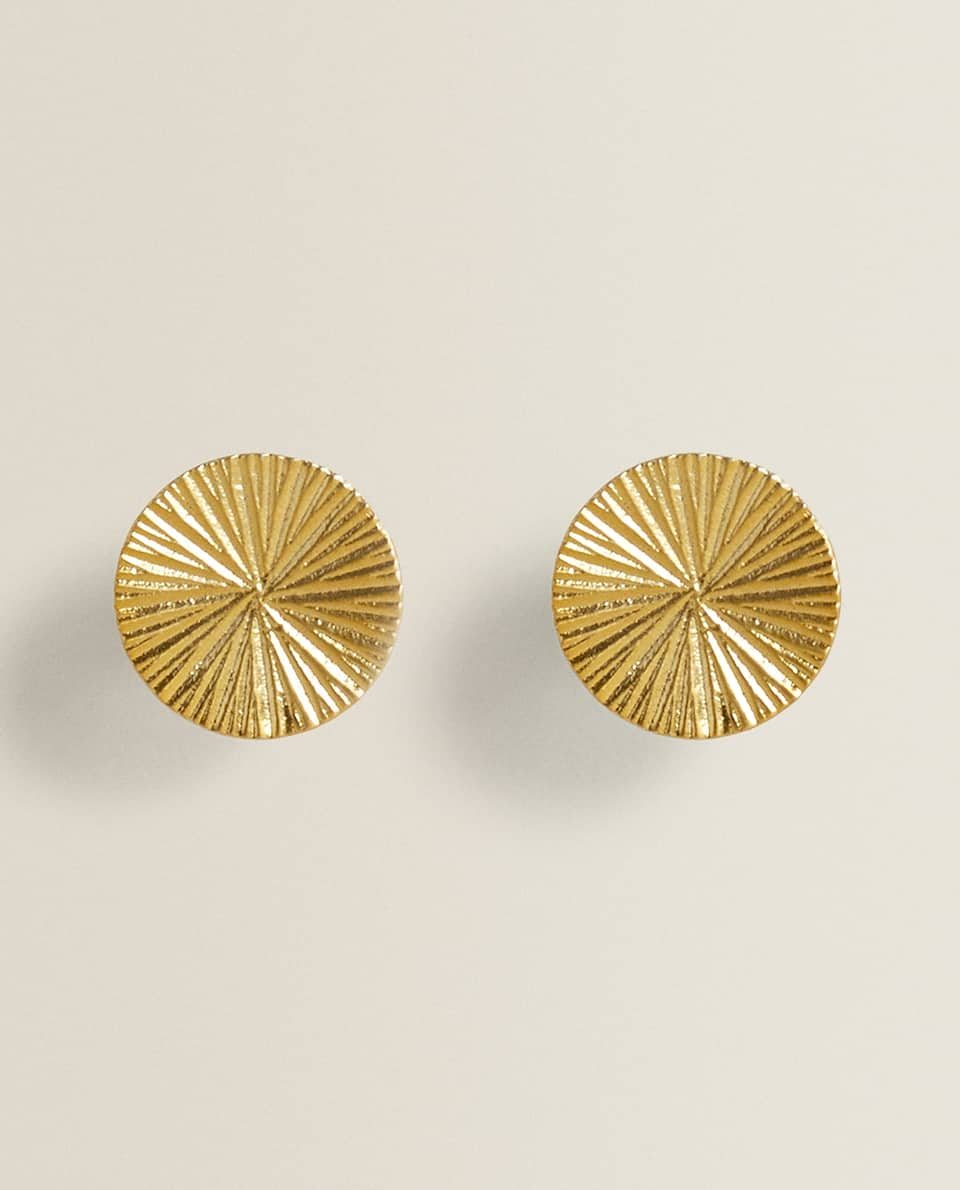ROUND GOLD DOOR KNOB (PACK OF 2)