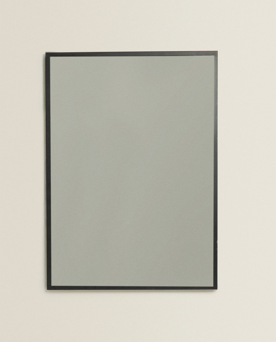 RECTANGULAR METAL MIRROR