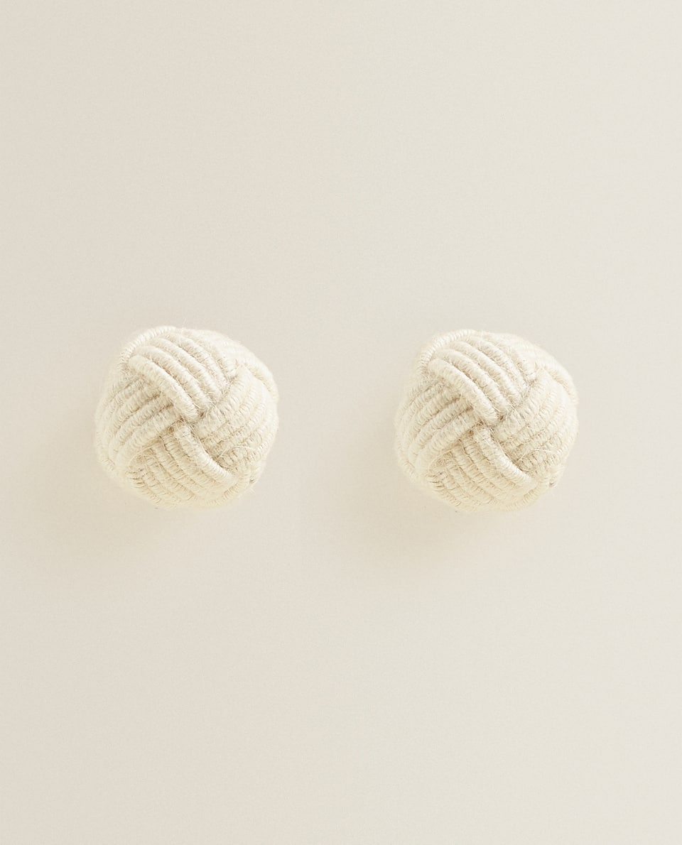 KNOTTED CORD DOOR KNOB (pack OF 2)