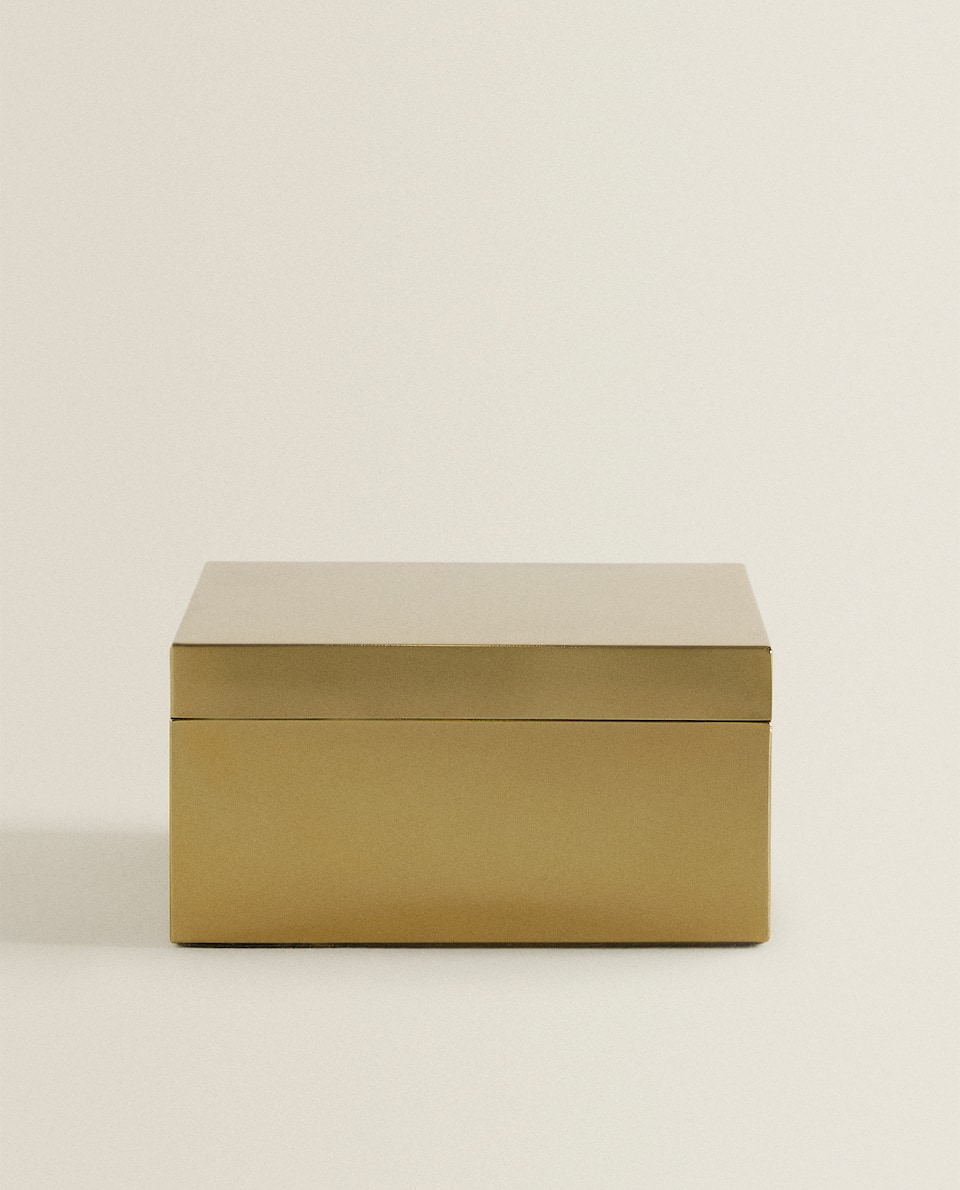 GOLD METAL BOX