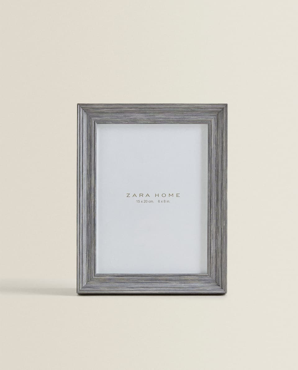 DARK GREY WOOD FRAME