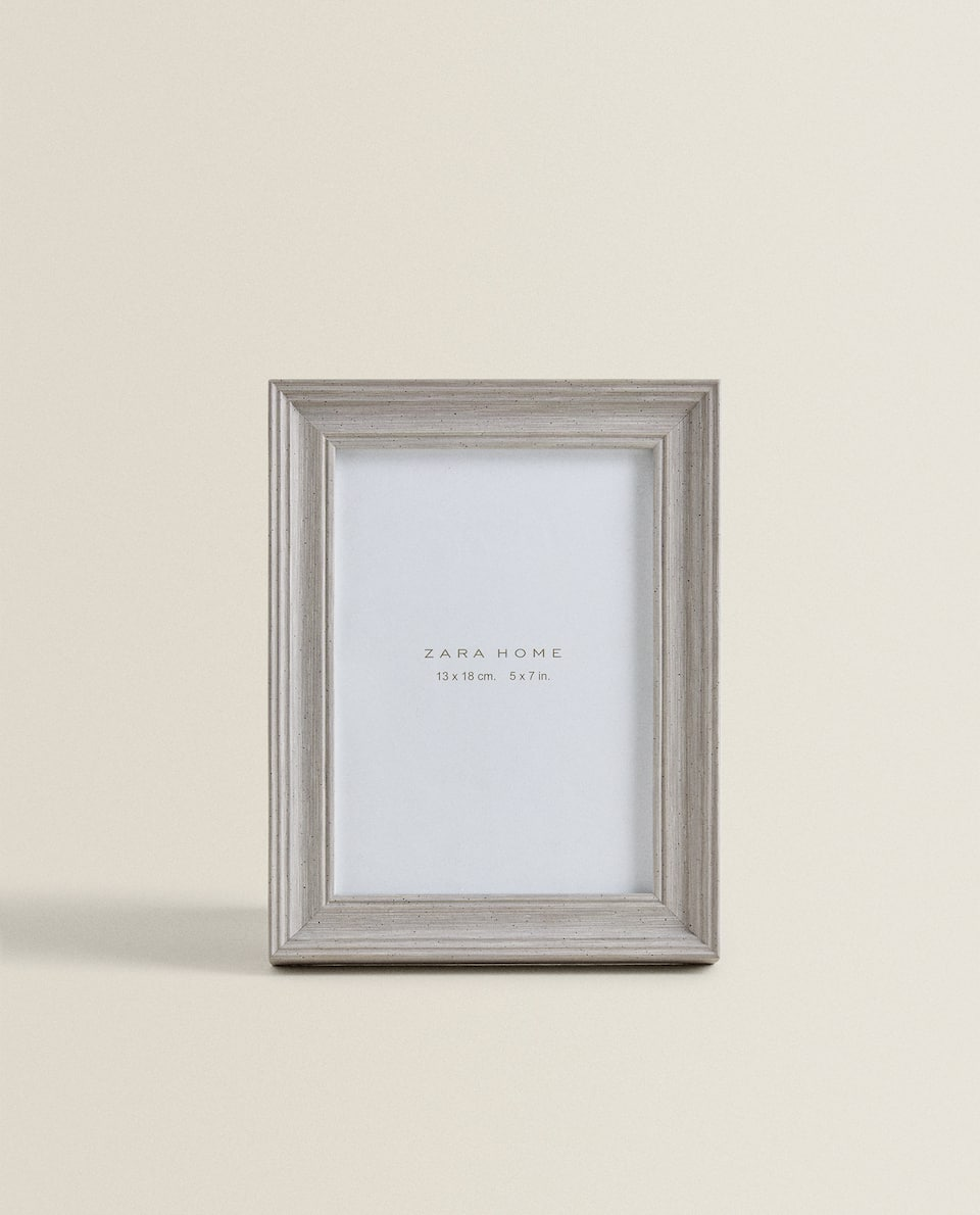 LIGHT GREY WOOD FRAME