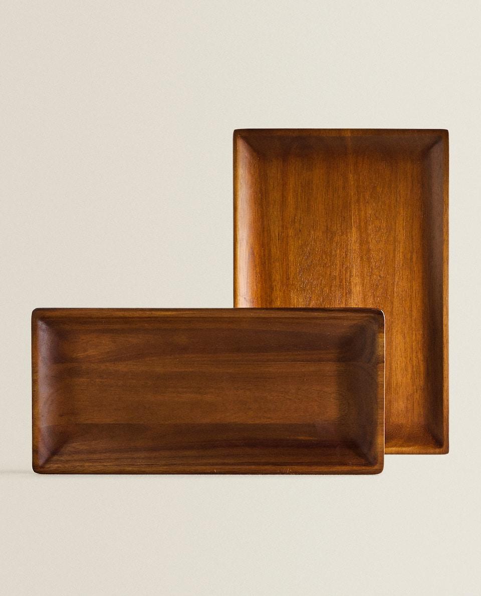 صينية خشبية