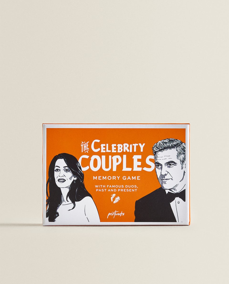 CELEBRITY COUPLES KARTENSPIEL