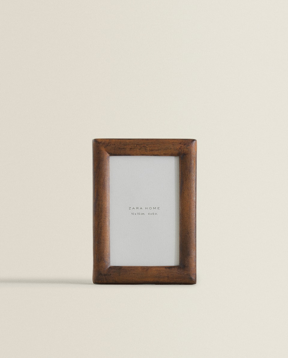 DARK WOODEN FRAME