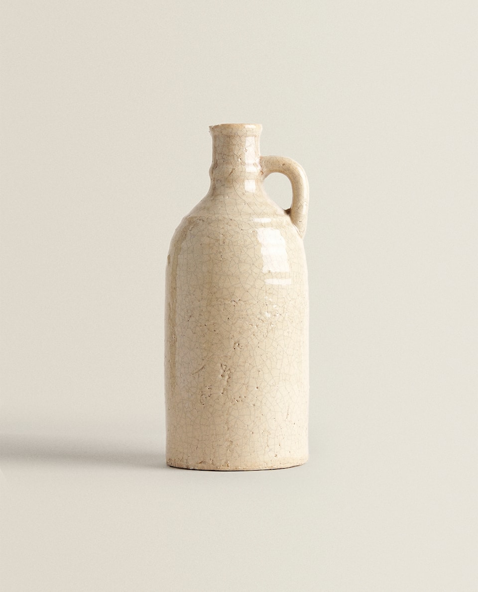 DECORATIVE CERAMIC BOTTLE