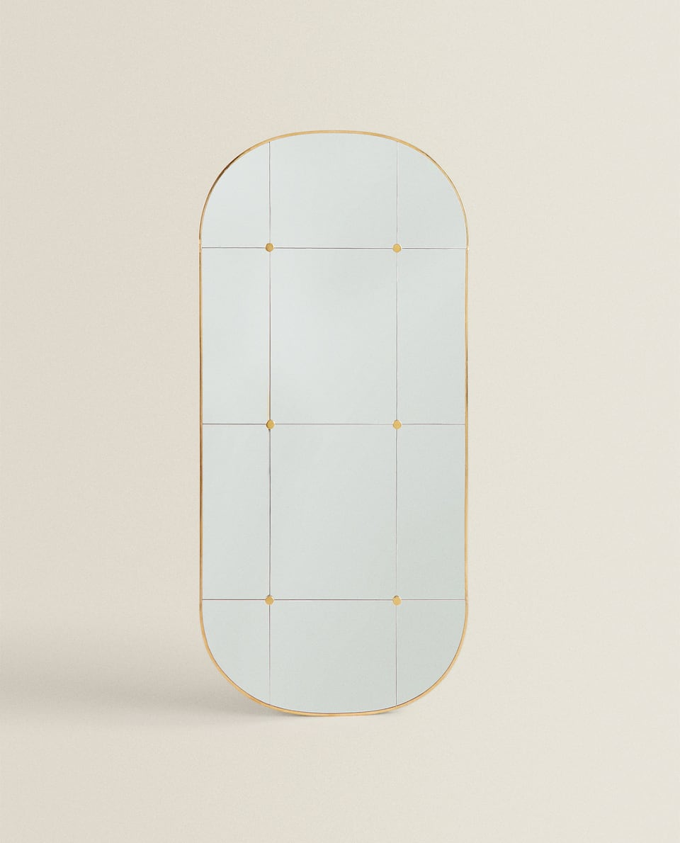 METAL FRAME MIRROR