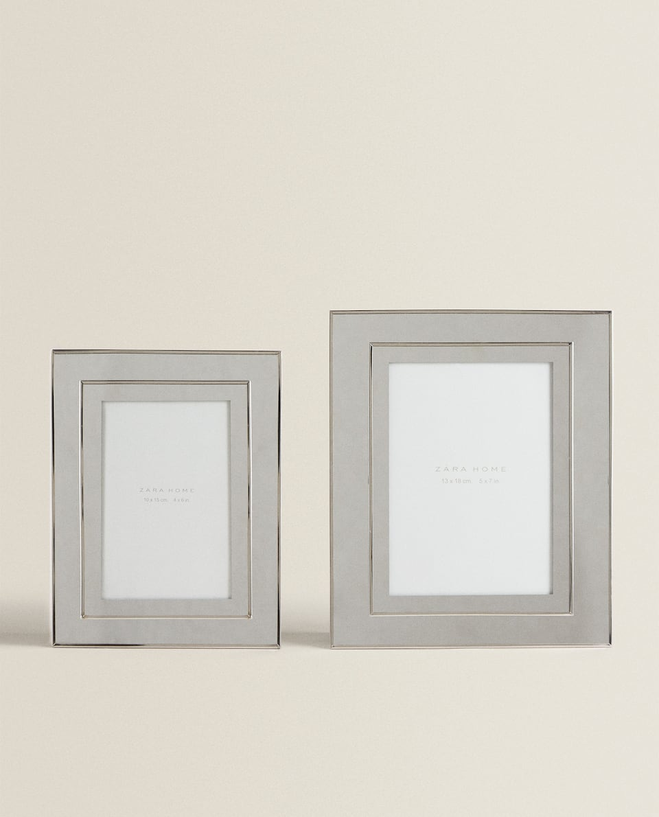 MIRRORED METAL FRAME
