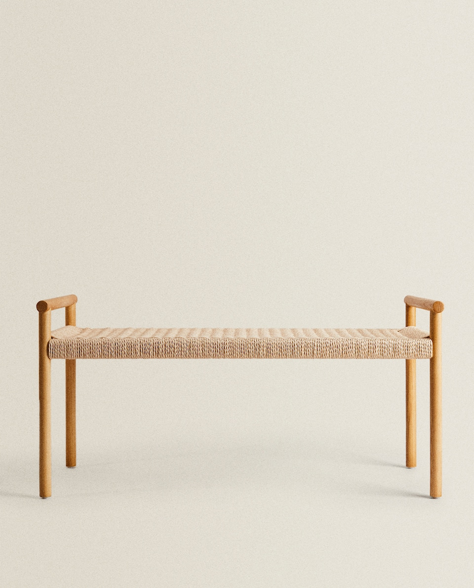 WOODEN DOUBLE BENCH