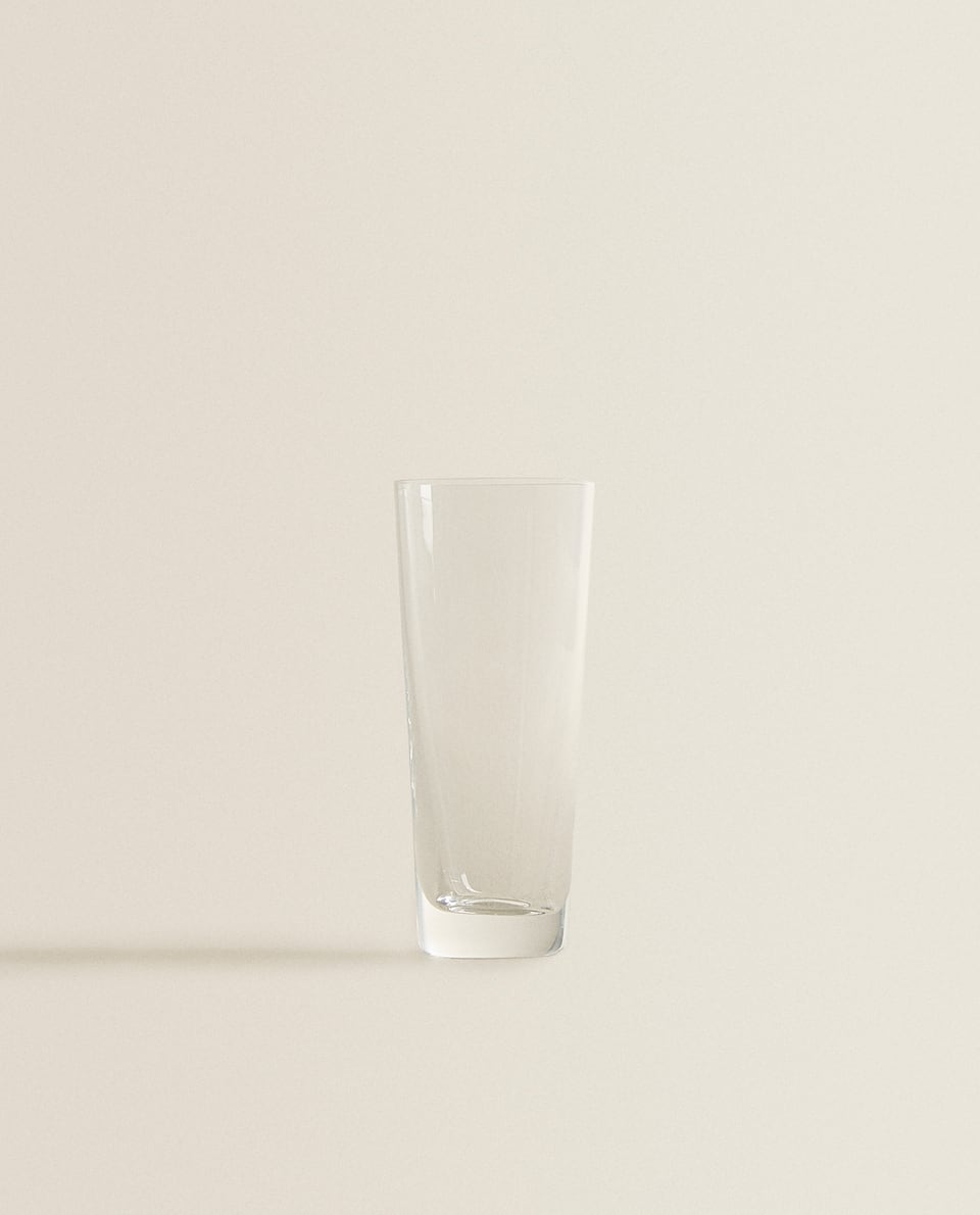 TALL CRYSTALLINE SHOT GLASS