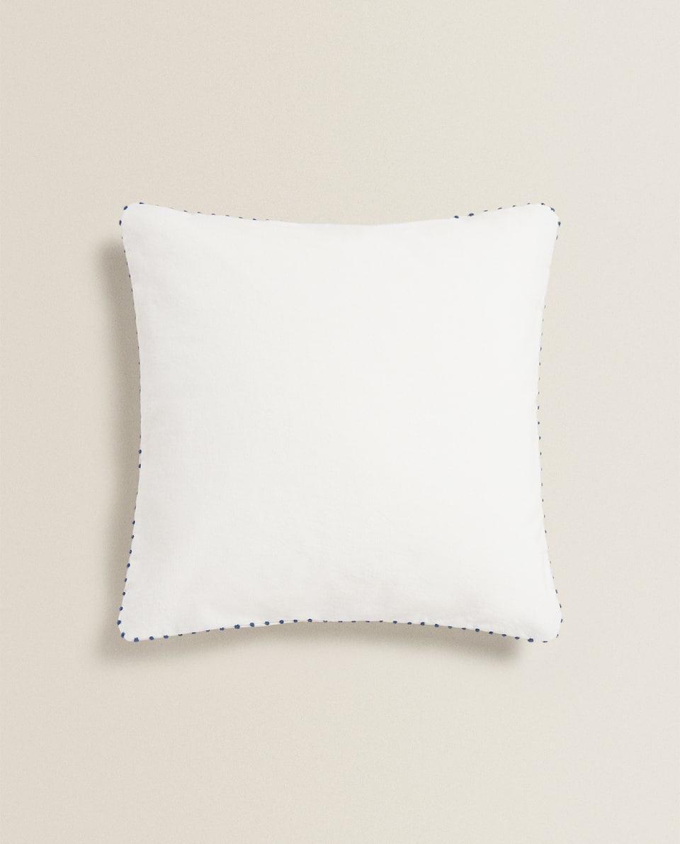 CUSHION COVER WITH DOTS