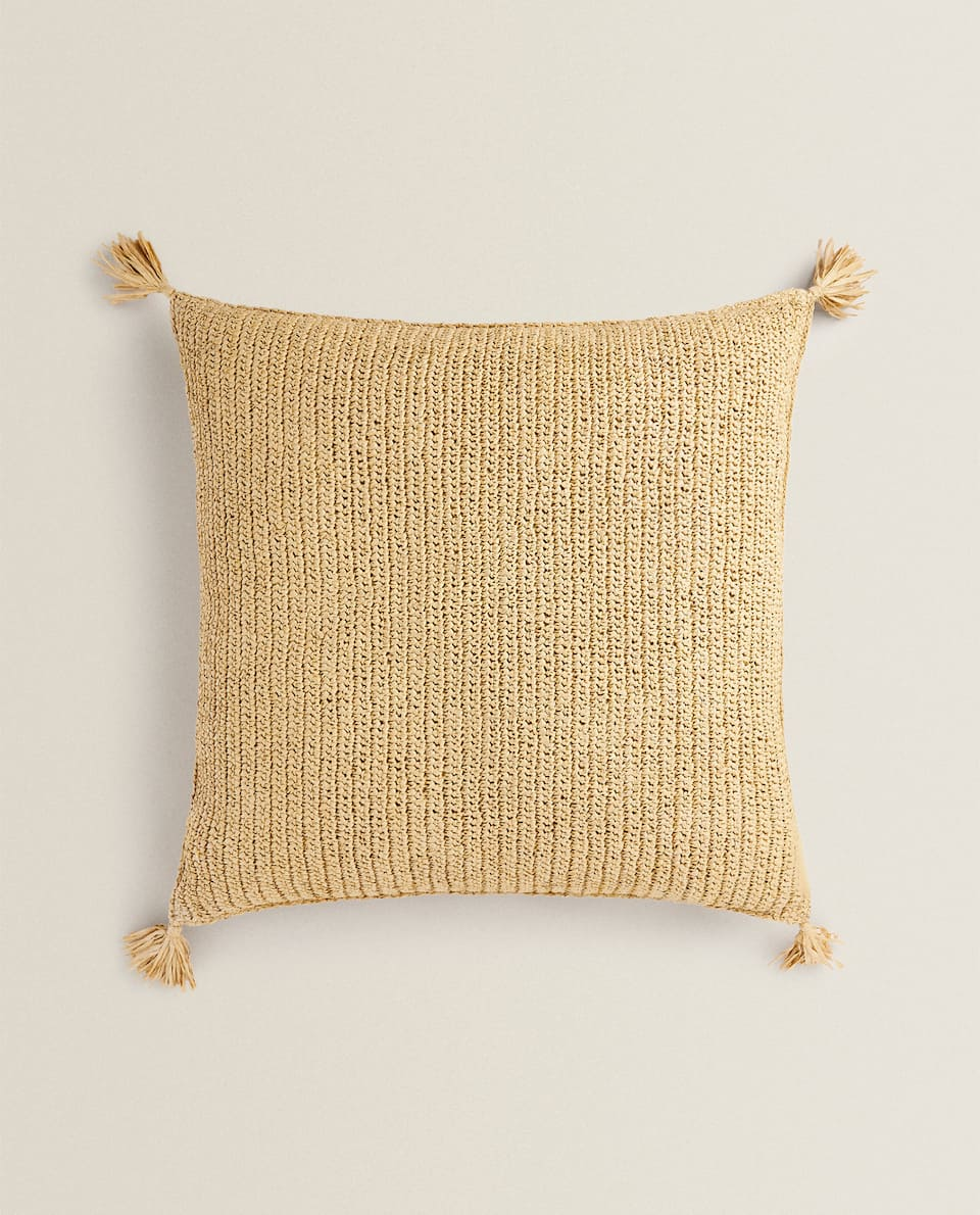 WICKER CUSHION
