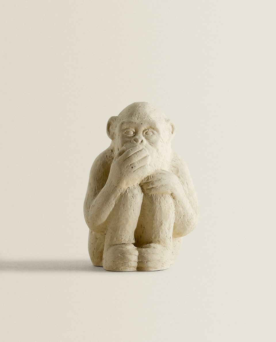 DECORATIVE MONKEY FIGURE
