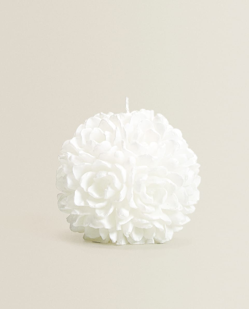 ROUND FLOWER CANDLE