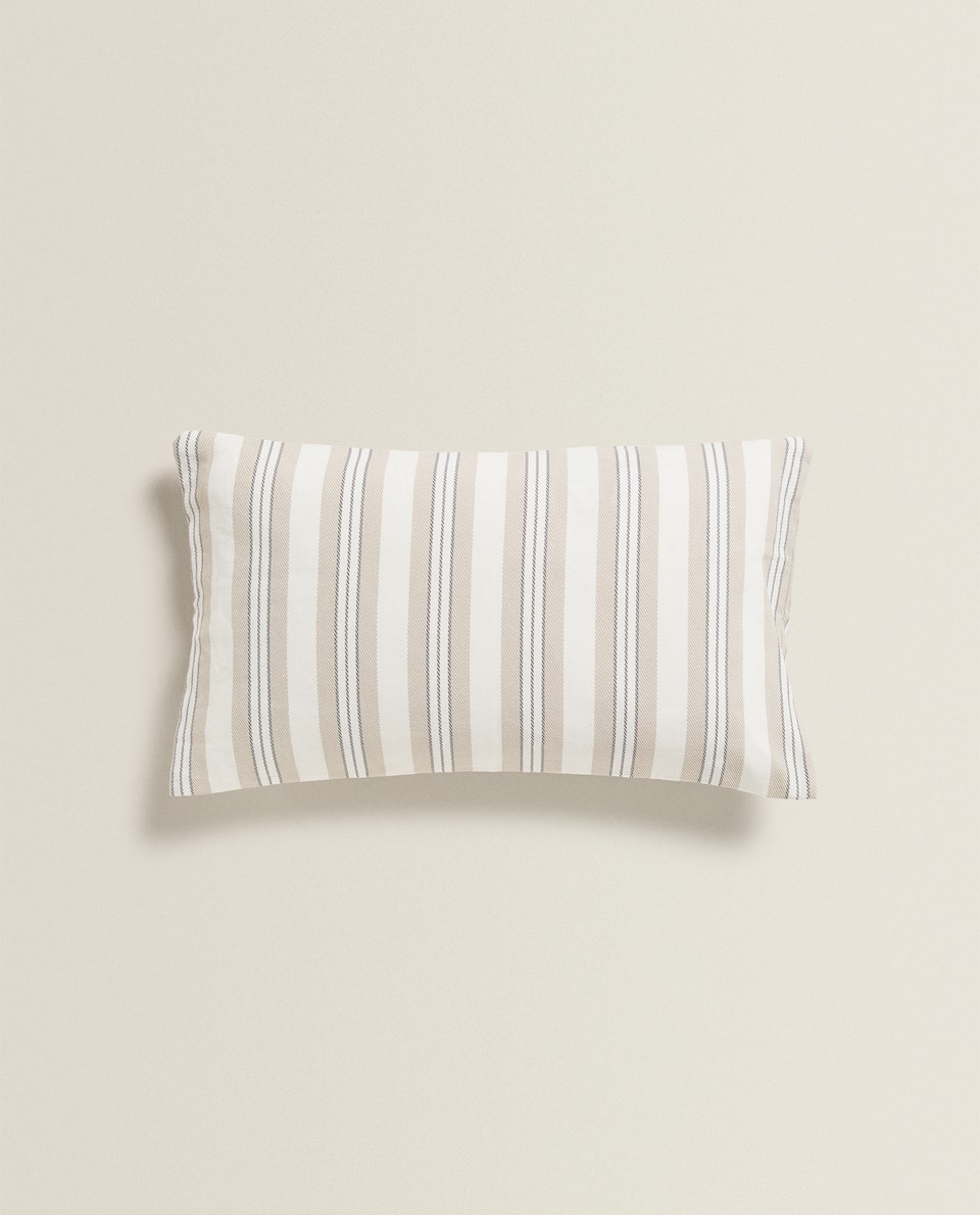 CUSHION COVER WITH STRIPE