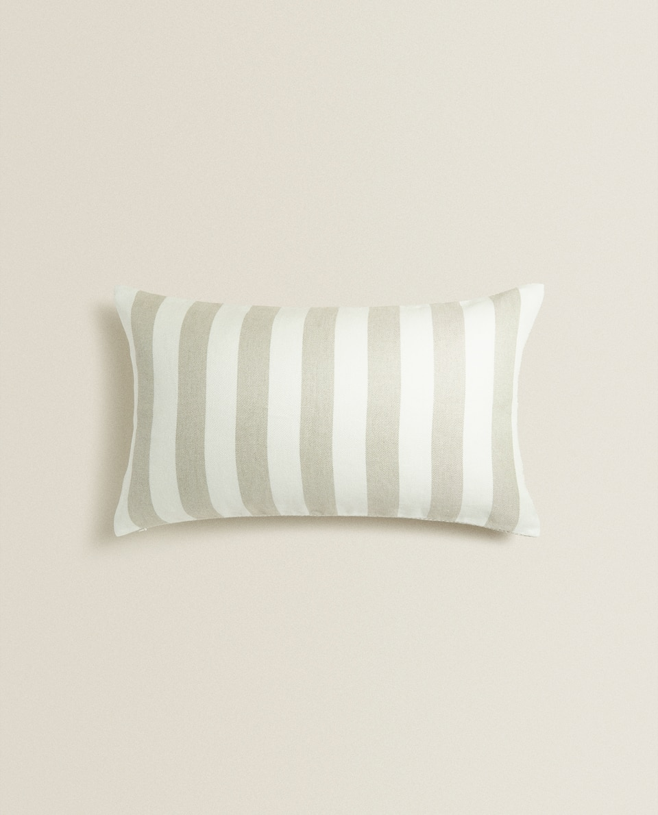 DOUBLE-SIDED LINEN CUSHION COVER