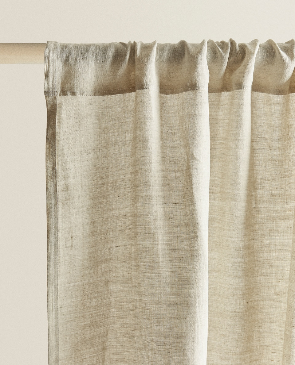 WASHED LINEN CURTAIN