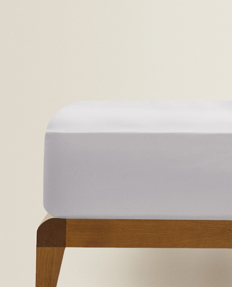 (300 THREAD COUNT) SATEEN FITTED SHEET