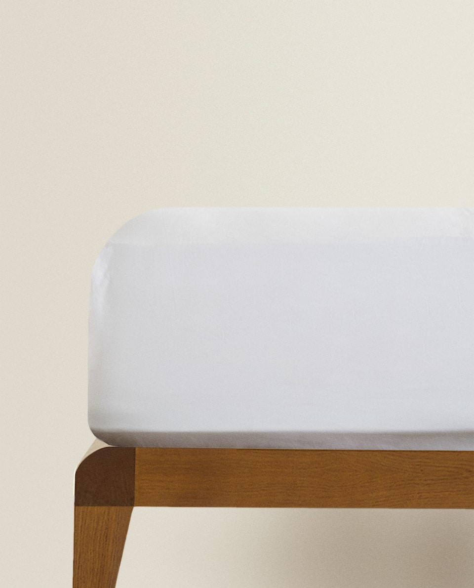 (500 THREAD COUNT) SATEEN FITTED SHEET