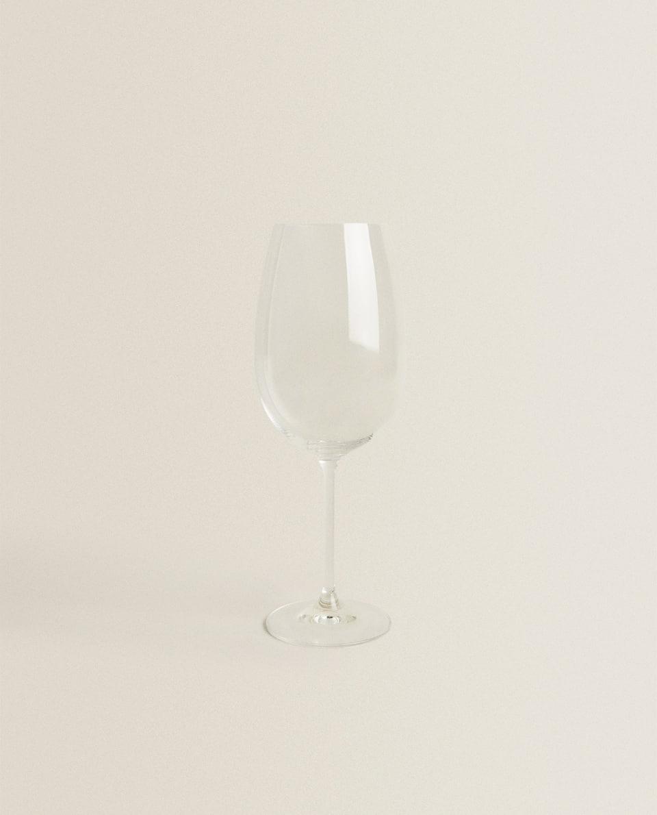 CRYSTALLINE BORDEAUX WINE GLASS