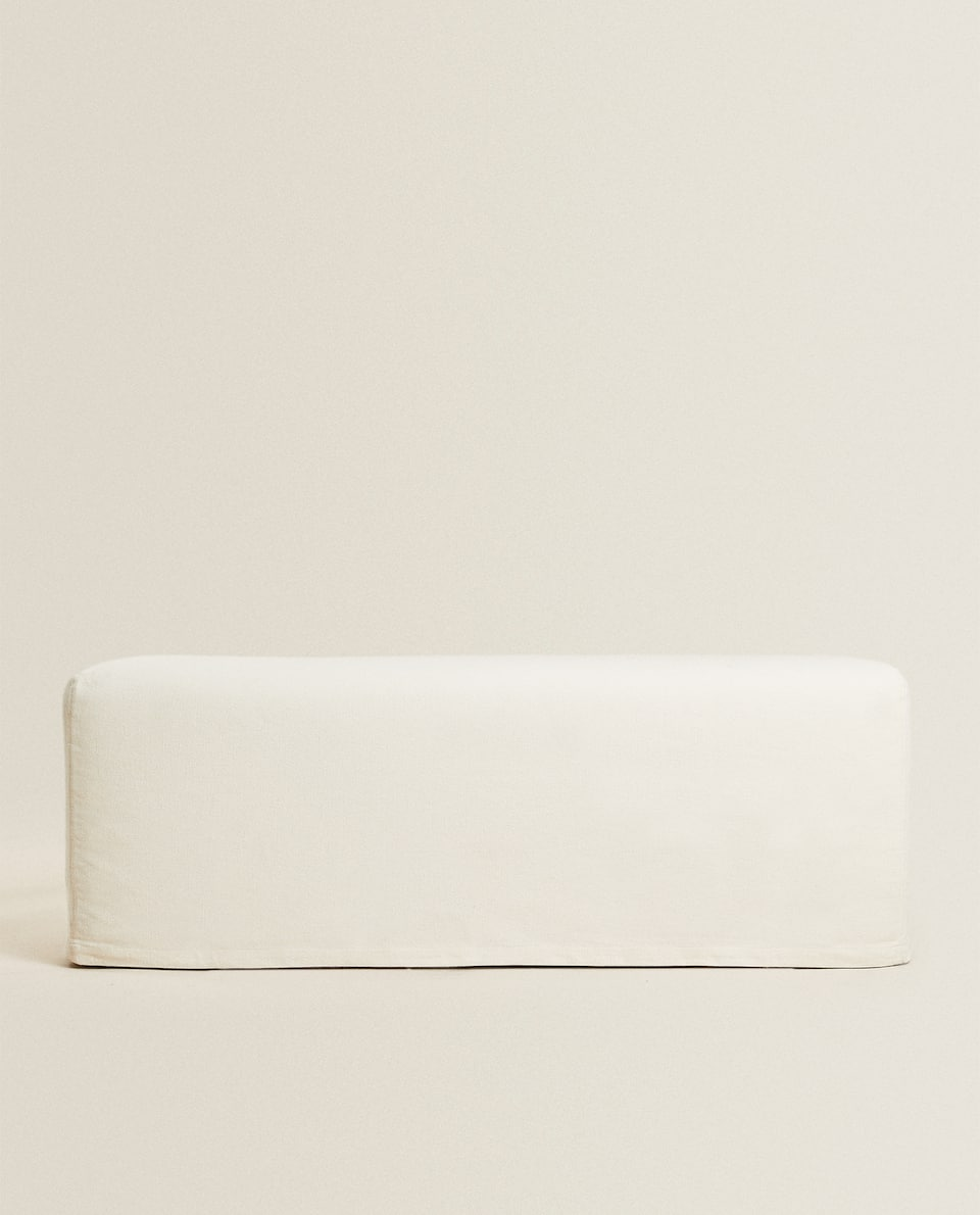BENCH WITH REMOVABLE COVER