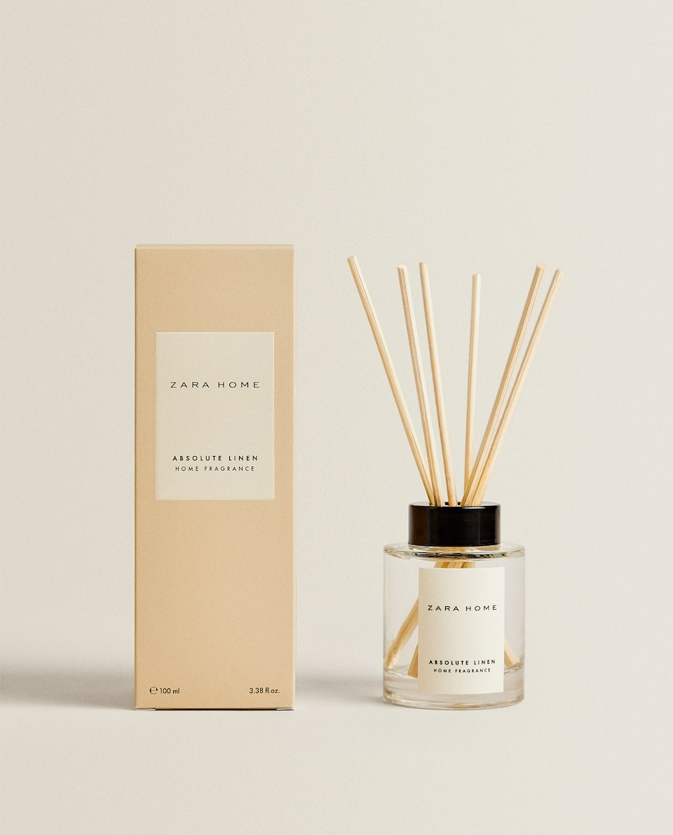 (100 ML) ABSOLUTE LINEN REED DIFFUSER