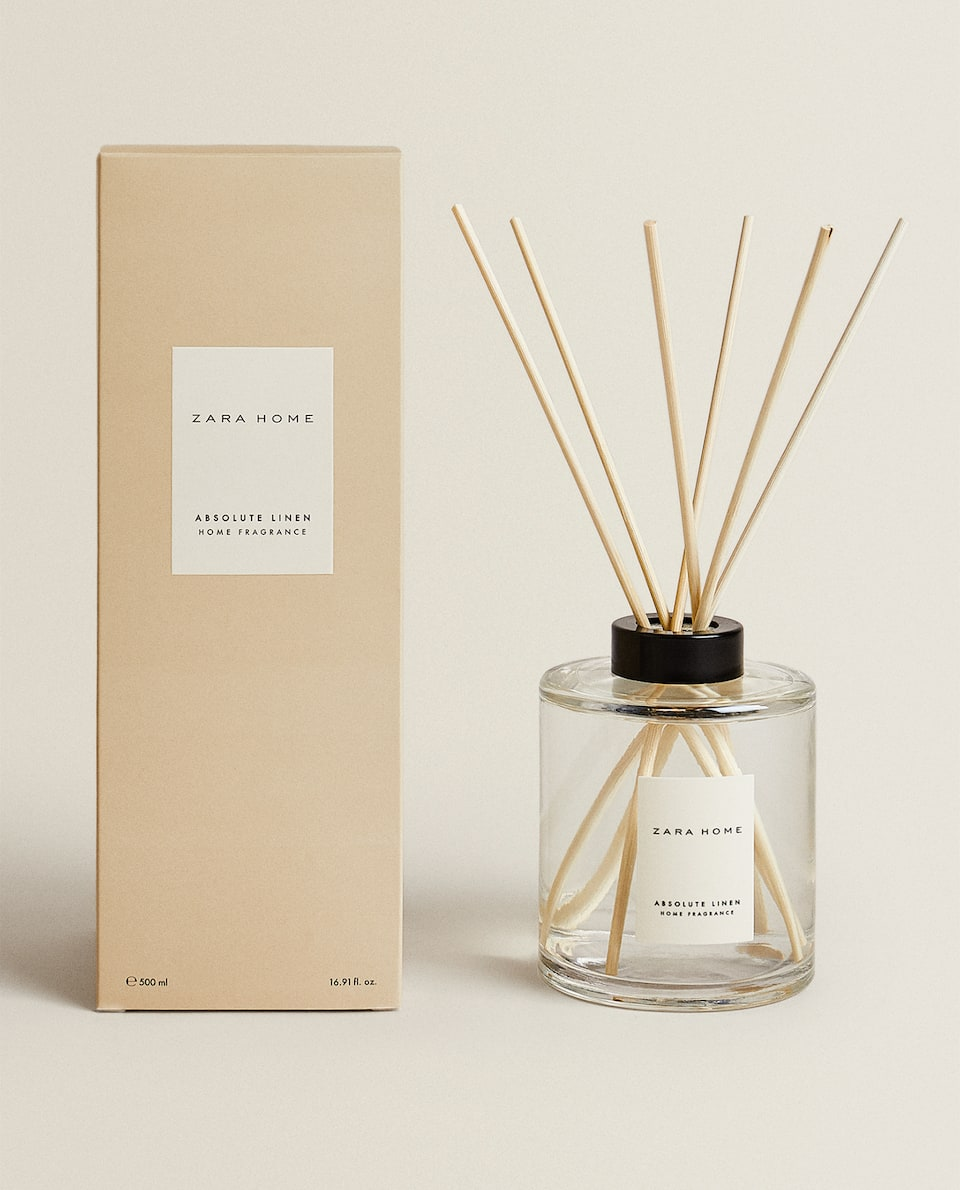 (500 ML) ABSOLUTE LINEN REED DIFFUSER
