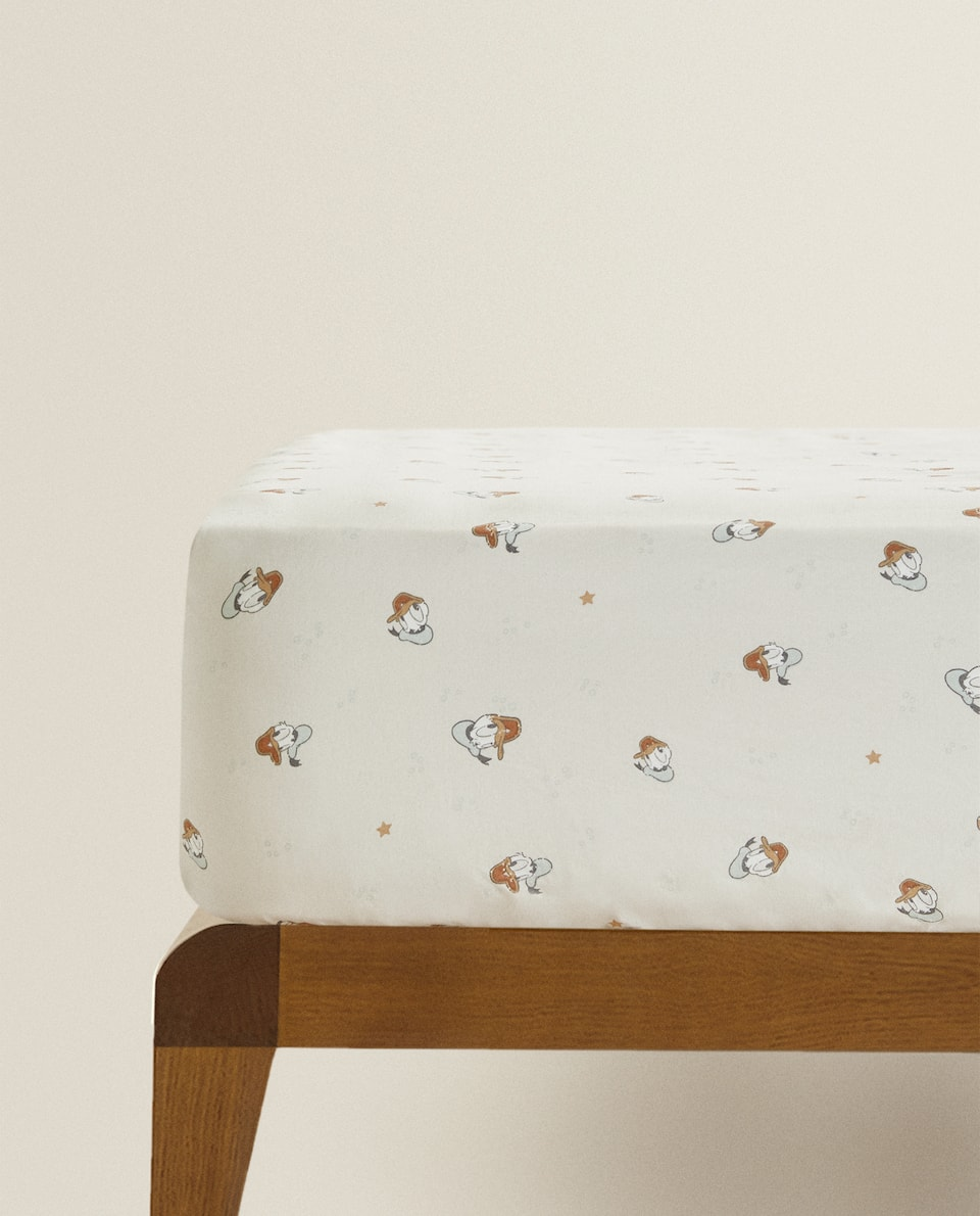 DONALD DUCK FITTED SHEET