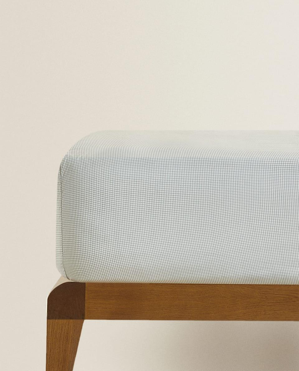 千鳥格紋床笠
