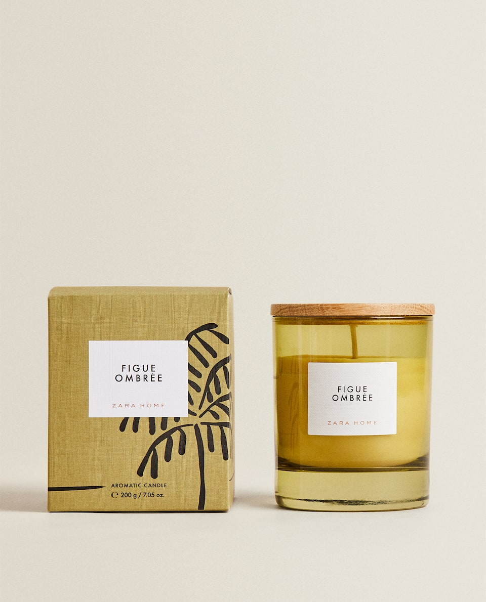 (200 G) FIGUE OMBRÉE SCENTED CANDLE