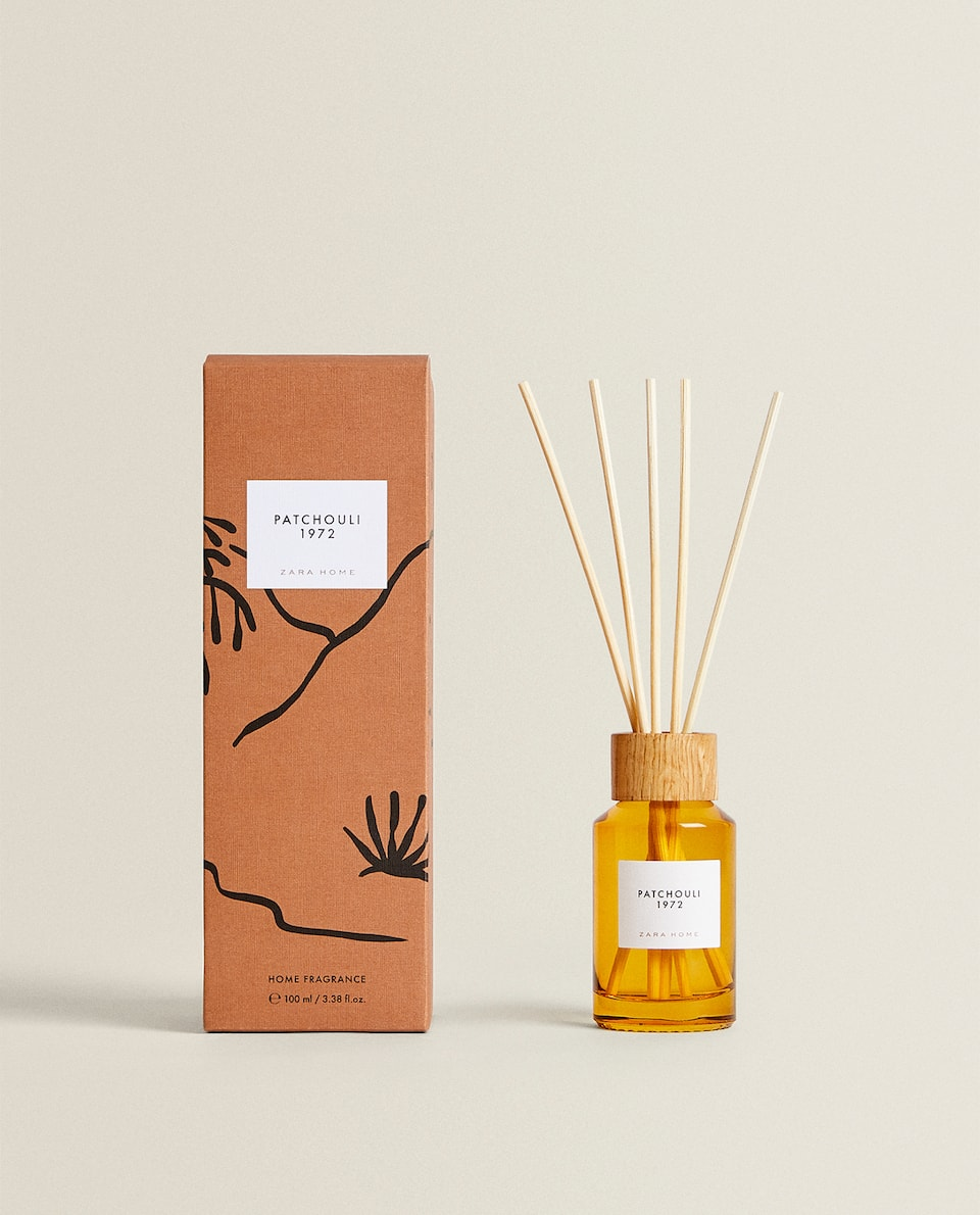 (100 ML) PATCHOULI 1972 REED DIFFUSER