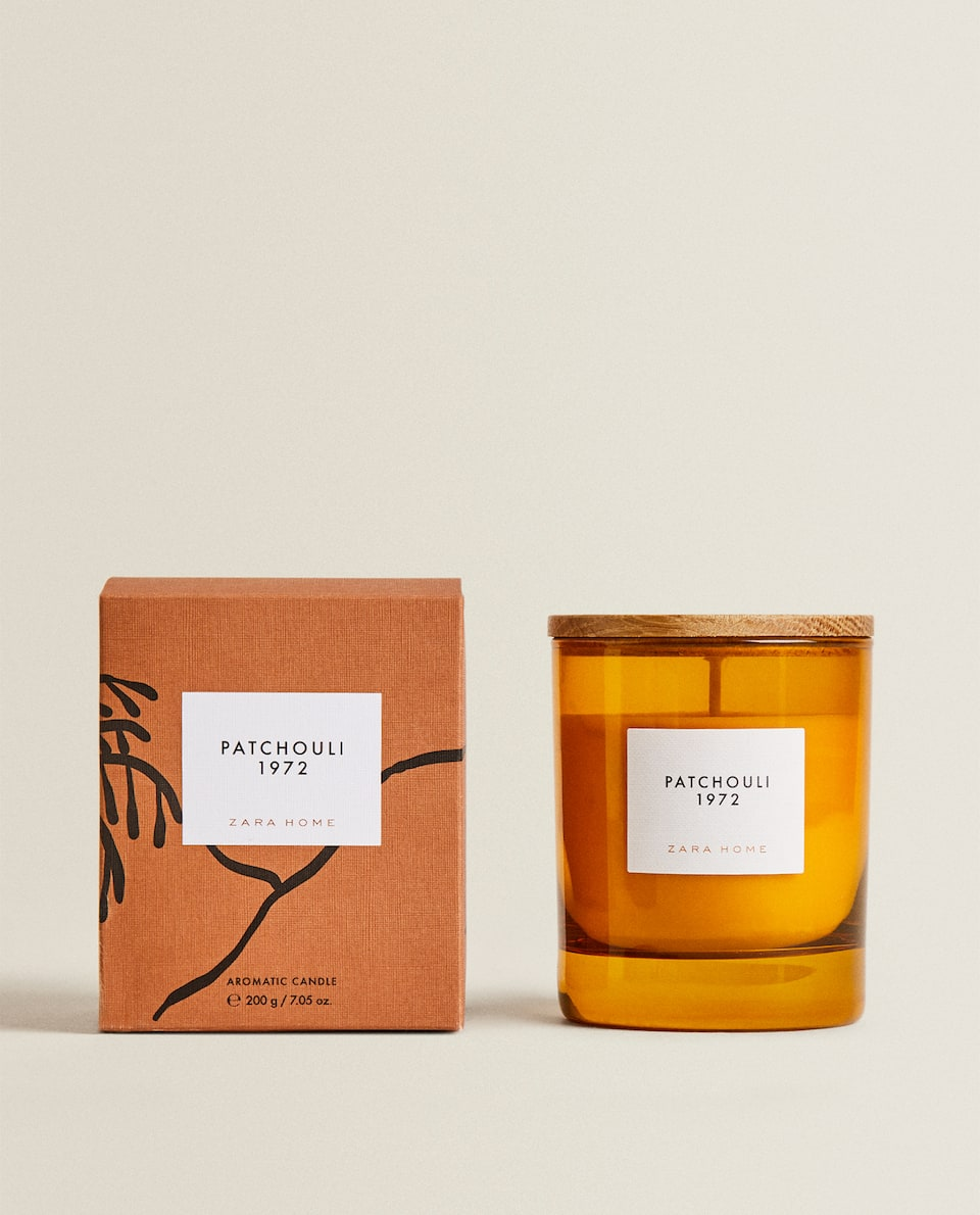 (200 G) PATCHOULI 1972 SCENTED CANDLE