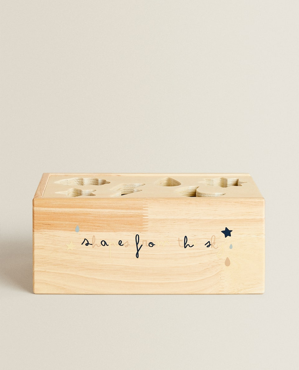 WOODEN WEATHER PUZZLE