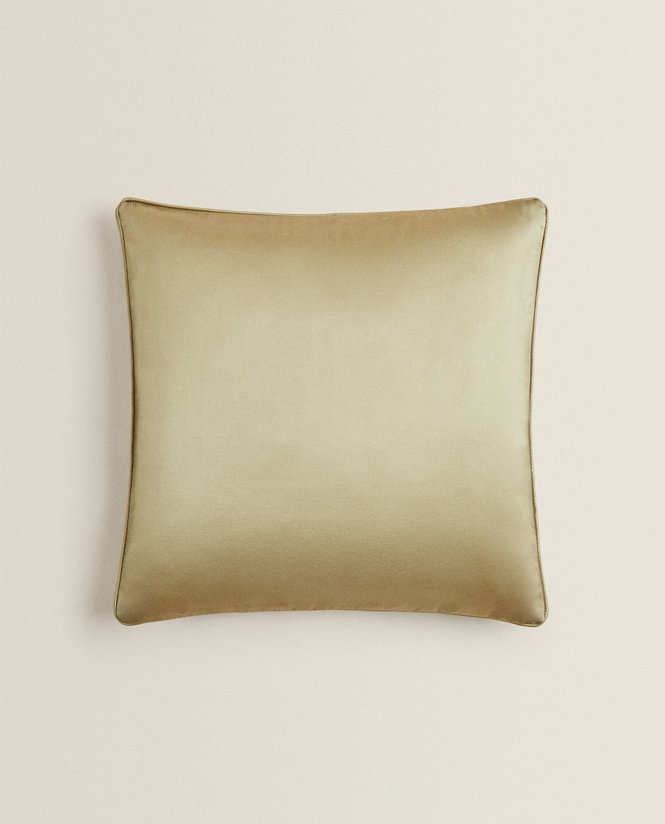 CUSHION COVER WITH PIPING