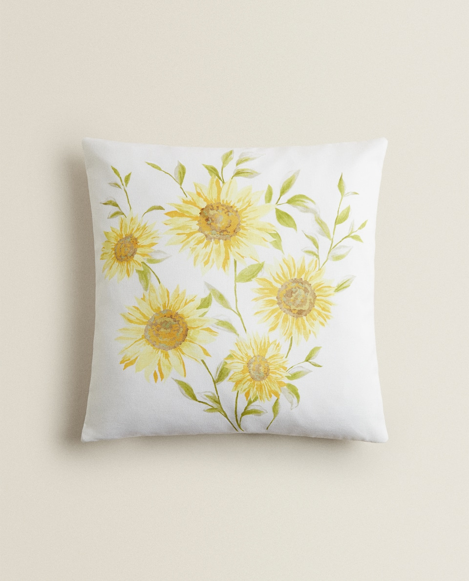 SUNFLOWERS CUSHION COVER