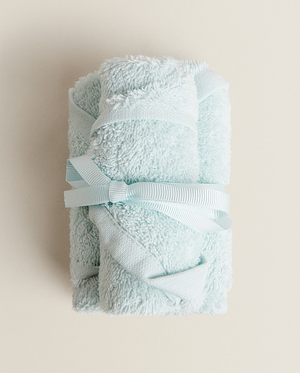(PACK OF 3) ECOLOGICALLY GROWN COTTON TOWELS