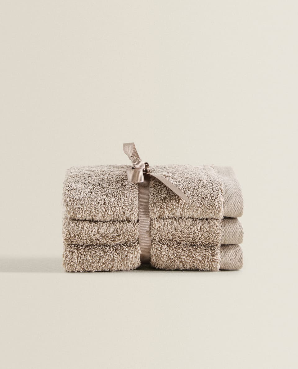 (PACK OF 3) HIGH QUALITY COTTON TOWELS