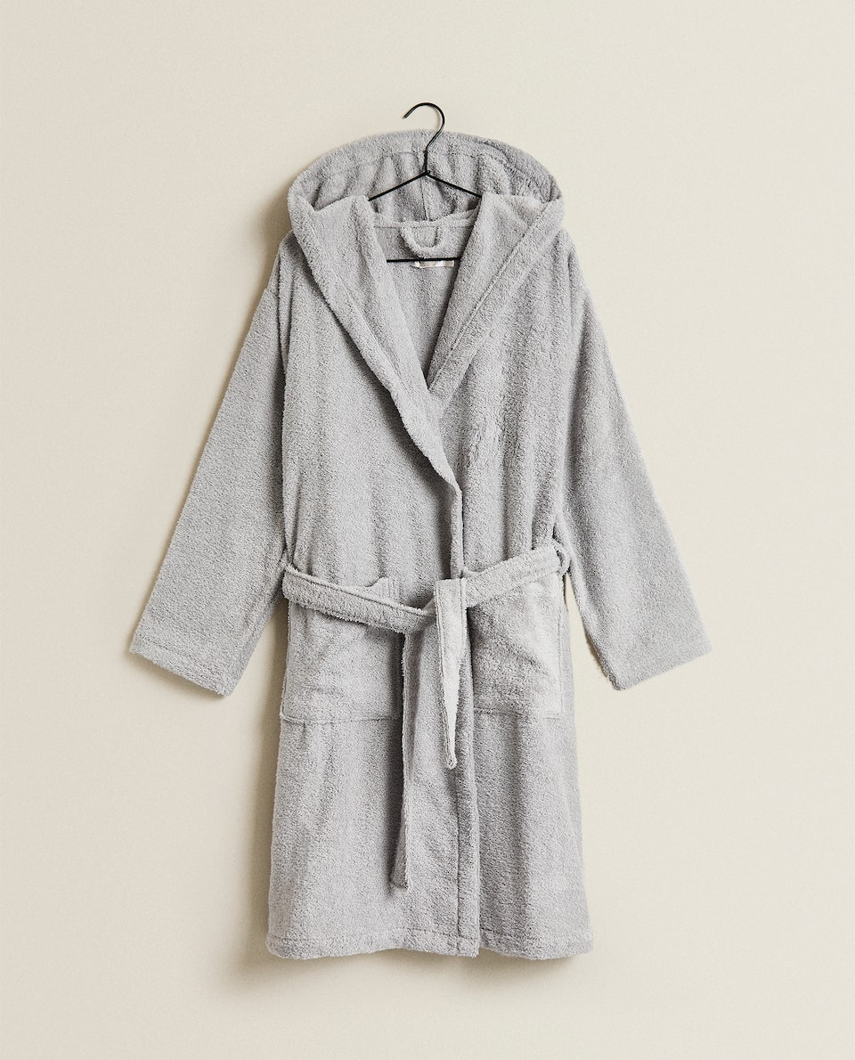 HIGH QUALITY COTTON DRESSING GOWN
