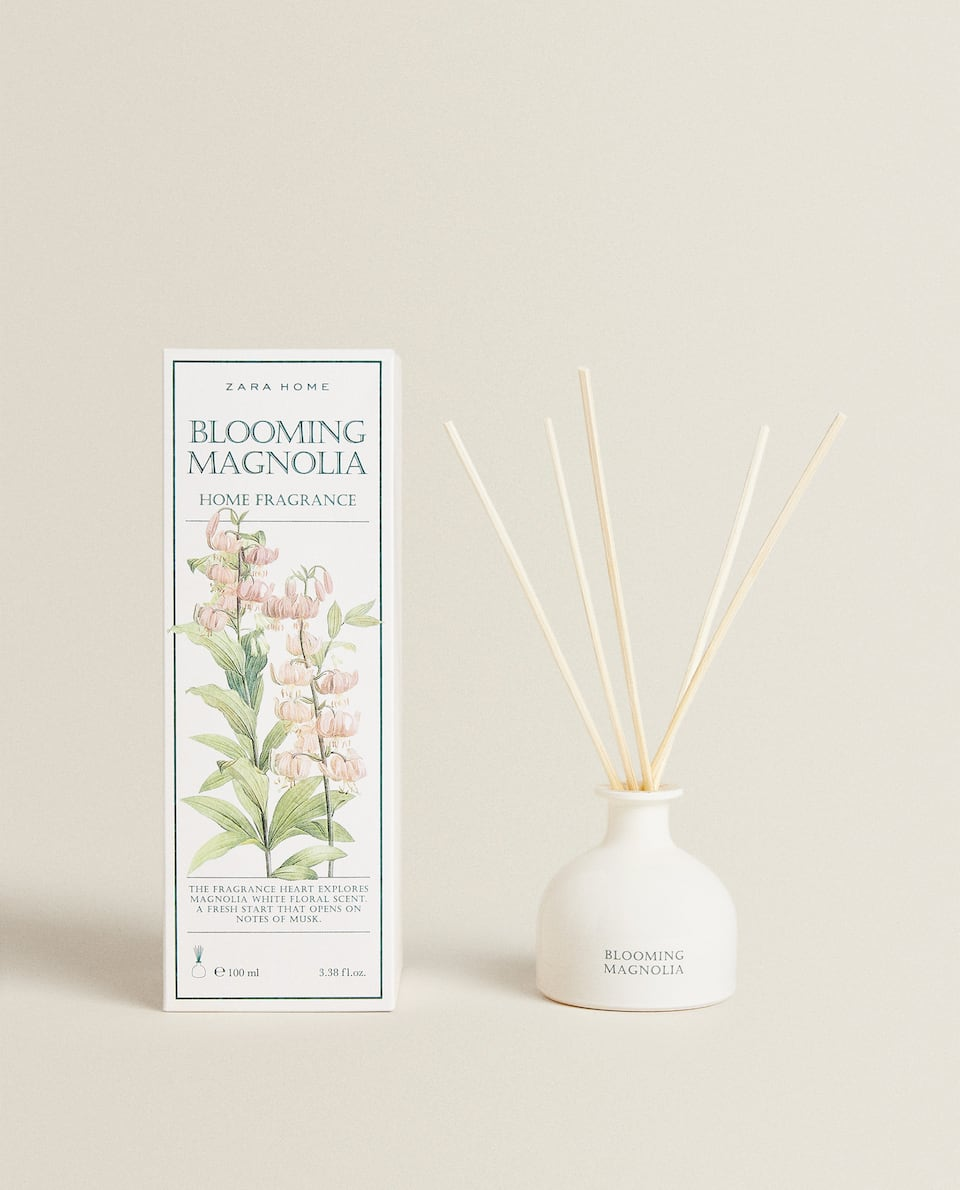 (100 ML) BLOOMING MAGNOLIA REED DIFFUSER