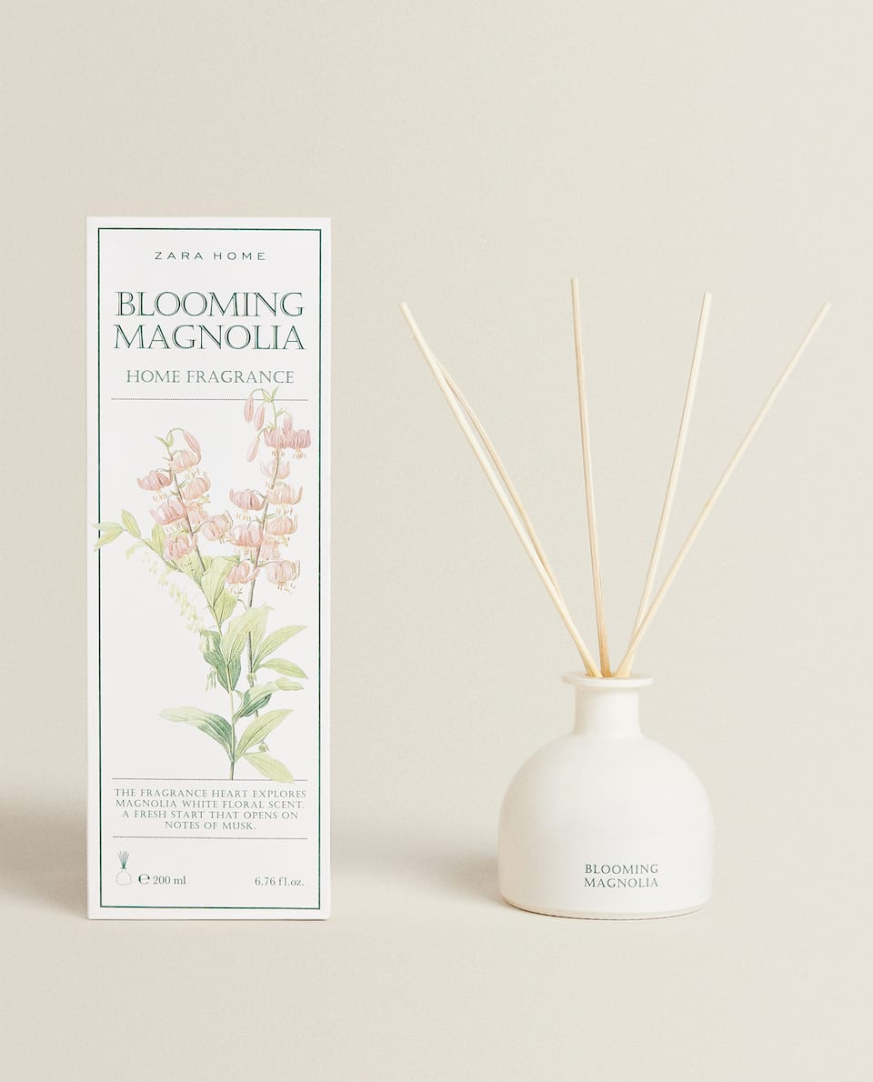 (200 ML) BLOOMING MAGNOLIA REED DIFFUSER